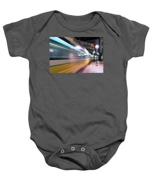 Dallas Dart Motion 012618 Baby Onesie