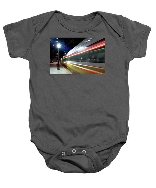 Dallas Dart Train 012518 Baby Onesie