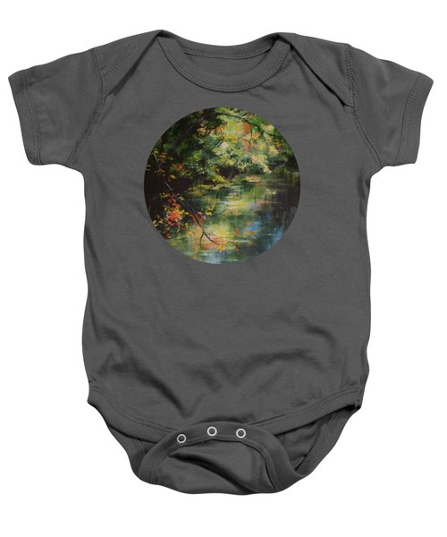 Dance Of Color And Light Baby Onesie