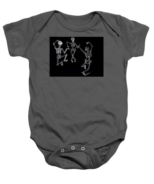 Dancing In The Dark Baby Onesie