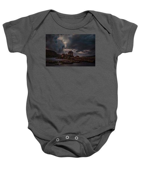 Dark Clouds #h2 Baby Onesie