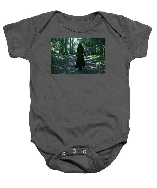 Dark Goddess Baby Onesie