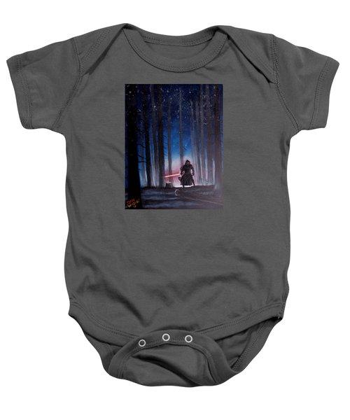 Dark Jedi Baby Onesie