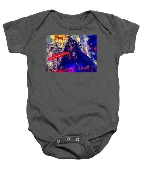 Darth Vader Baby Onesie