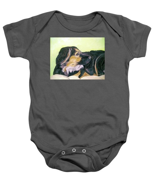 Date With Paint Sept 18 1 Baby Onesie