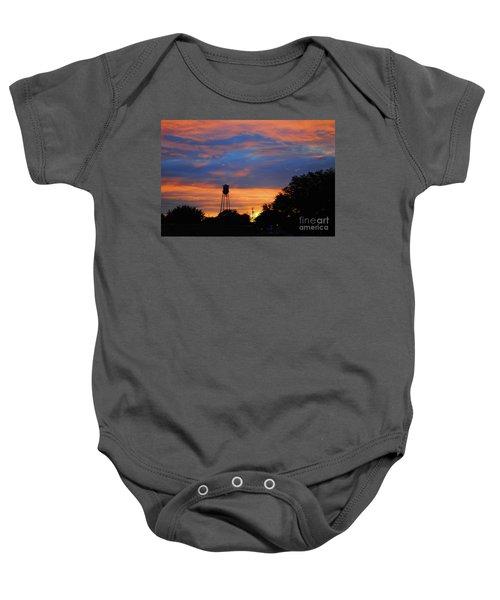 Davenport Tower Baby Onesie
