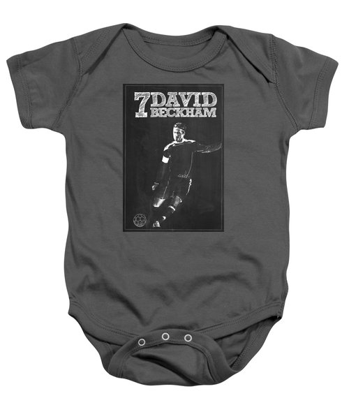 David Beckham Baby Onesie by Semih Yurdabak
