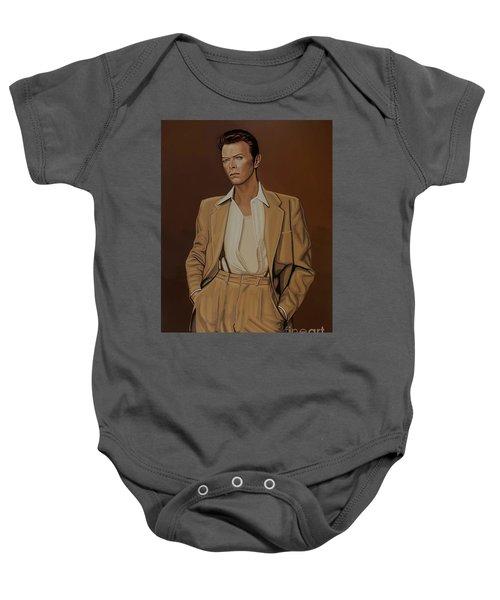 David Bowie Four Ever Baby Onesie
