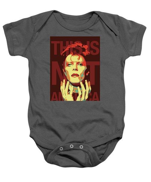 David Bowie Baby Onesie
