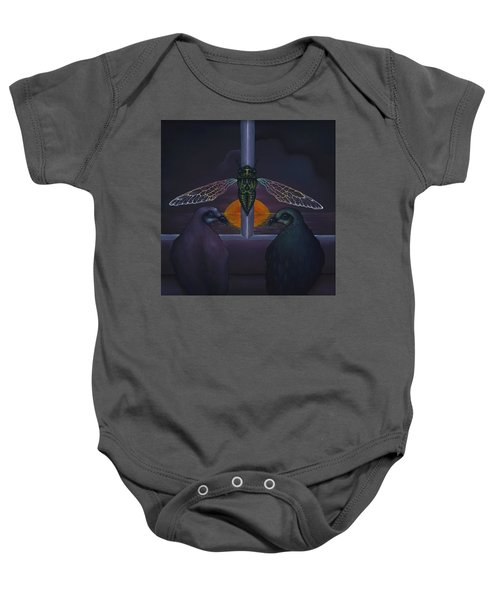 Dawn And The Echo Of Confession Baby Onesie