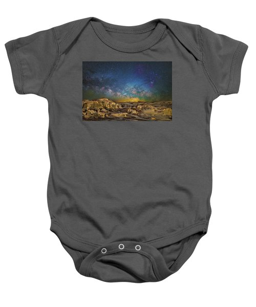Dawn Of The Universe Baby Onesie