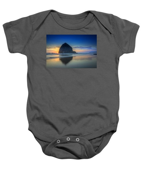 Day's End In Cannon Beach Baby Onesie
