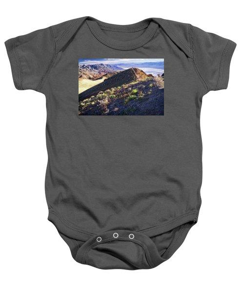 Death Valley At Spring Baby Onesie