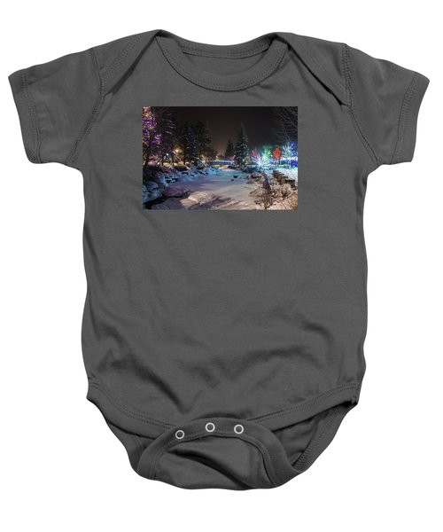 December On The Riverwalk Baby Onesie