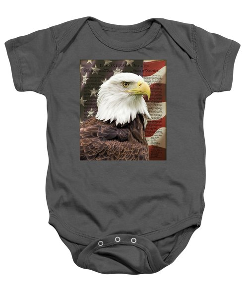 Declaration Of Independence Baby Onesie