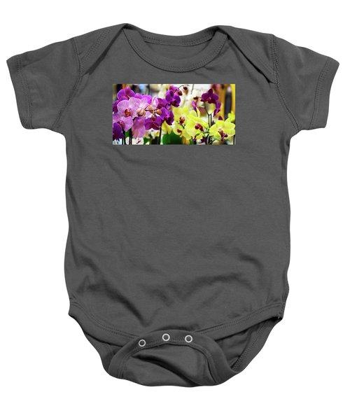 Decorative Orchids Still Life B82418 Baby Onesie