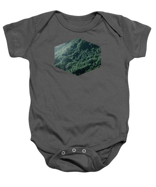 Deep Dark Forest Baby Onesie