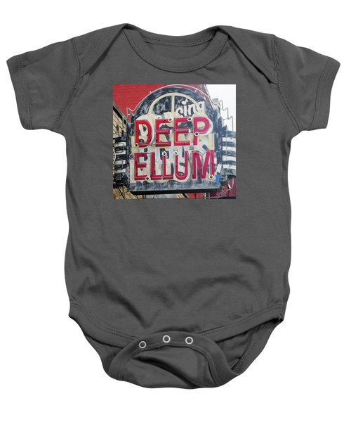 Deep Ellum Dallas Texas Baby Onesie