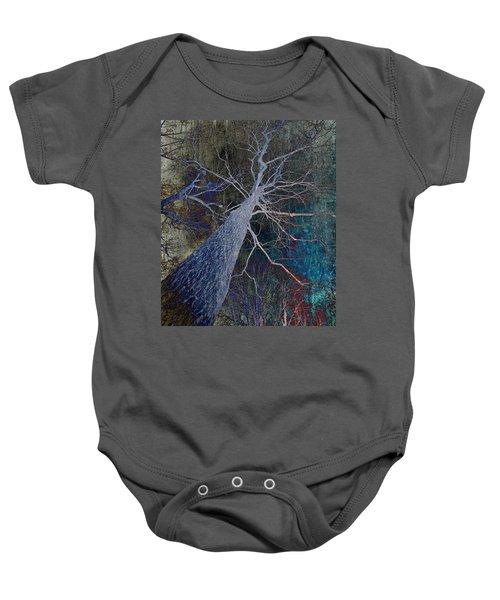 Deep In The Woods Baby Onesie