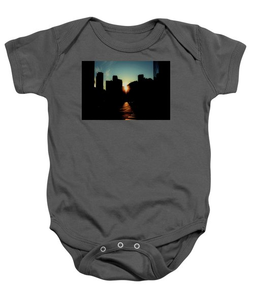 Deep Shadow Baby Onesie