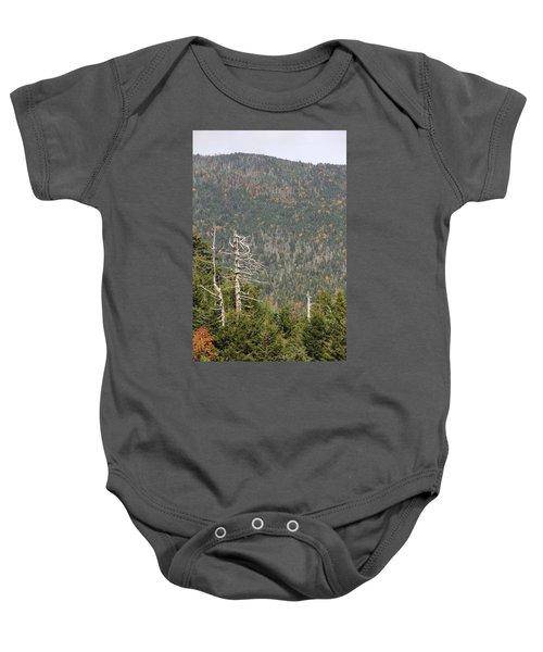Deeper Into Forest Baby Onesie