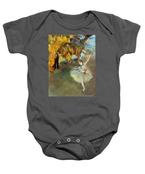 Degas Star, 1876-77. To License For Professional Use Visit Granger.com Baby Onesie