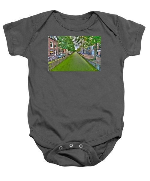 Delft Canals Baby Onesie