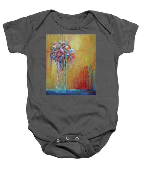 Delivered In Time Baby Onesie