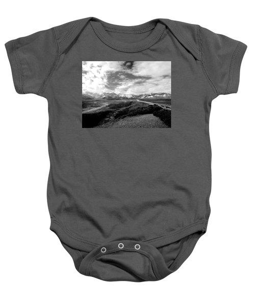 Denali National Park 4 Baby Onesie
