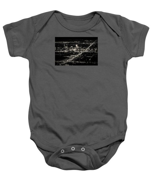 Denver Skyline Baby Onesie