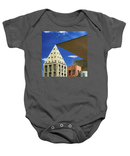 Denver Urban Geometry Baby Onesie