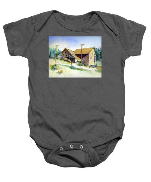Depot Hill, Dutch Flat,1910 Baby Onesie