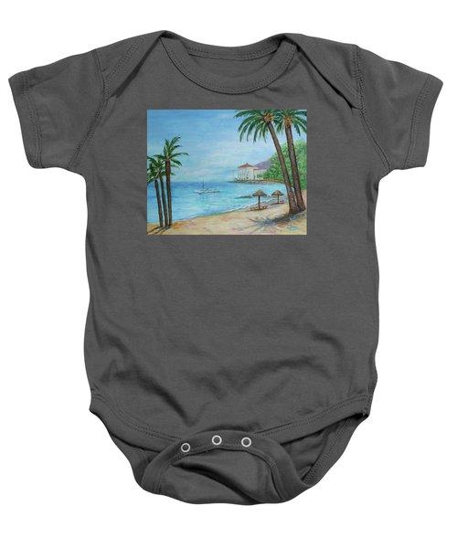 Descanso Beach, Catalina Baby Onesie