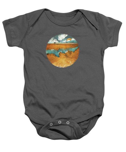 Desert Lake Baby Onesie