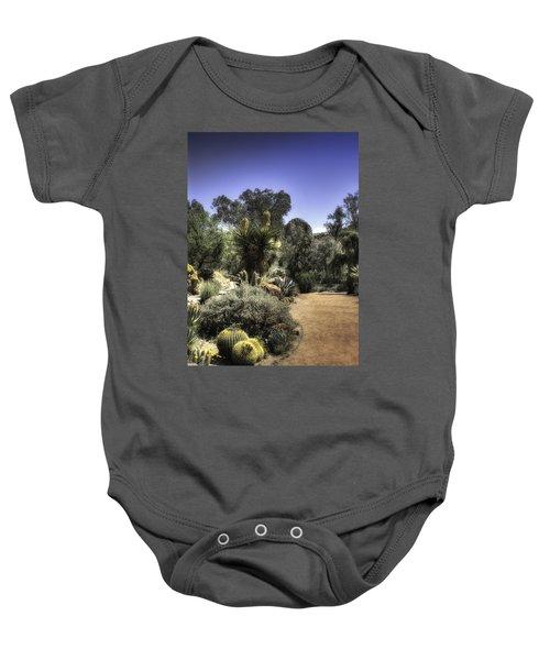 Desert Walkway Baby Onesie by Lynn Geoffroy