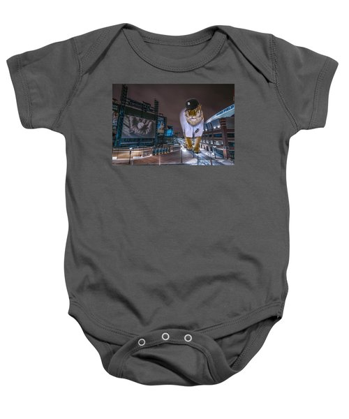 Detroit Tigers At  Comerica Park Baby Onesie