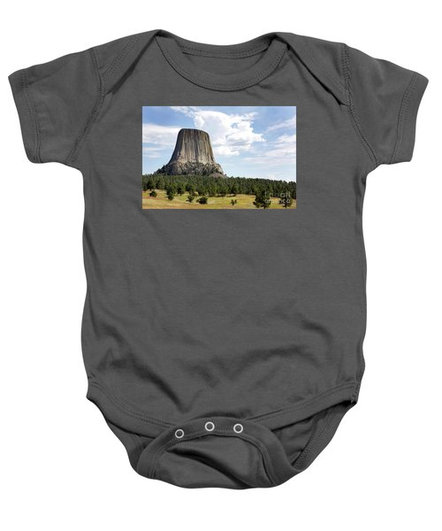 Devils Tower National Monument Baby Onesie