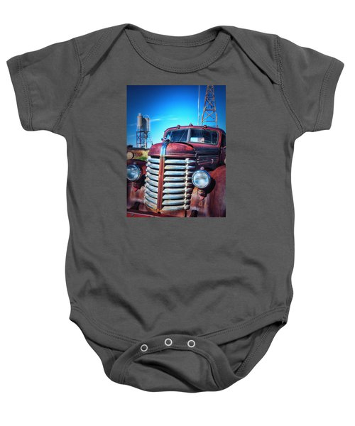 Diamond T Baby Onesie