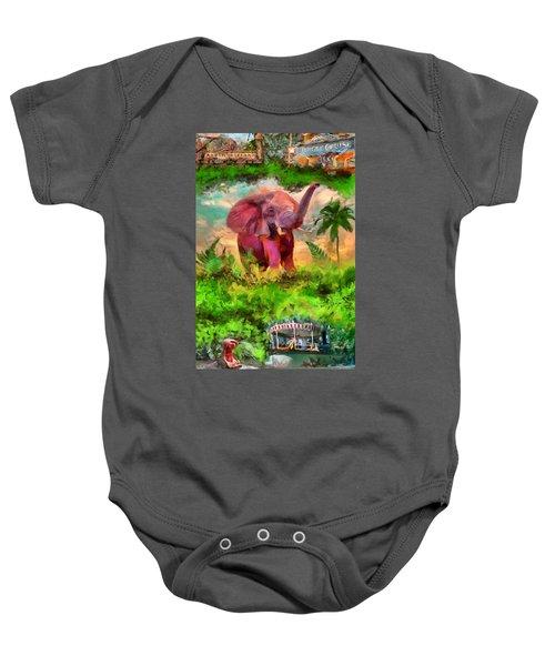 Disney's Jungle Cruise Baby Onesie