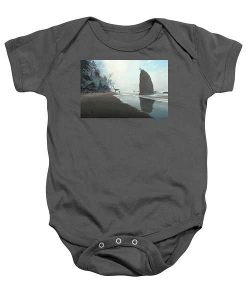 Distant Shores Baby Onesie