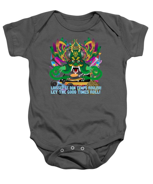 Dj Dragon6 King All Products Baby Onesie by Bill Campitelle