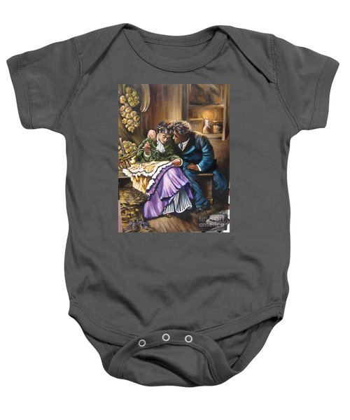 American History    Will You Marry  Me? Baby Onesie