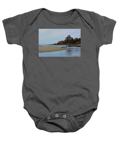Dogs And Surf Baby Onesie
