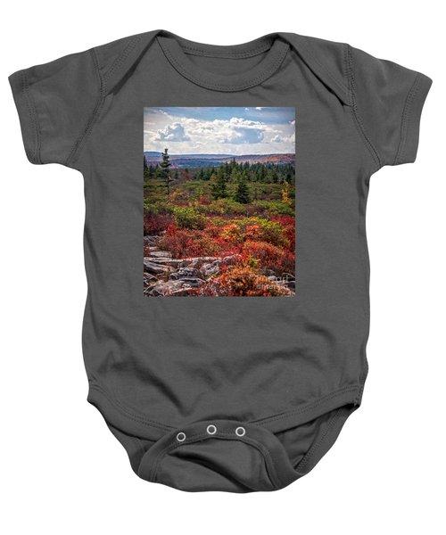 Dolly Sods Wilderness In Autumn 4273 Baby Onesie