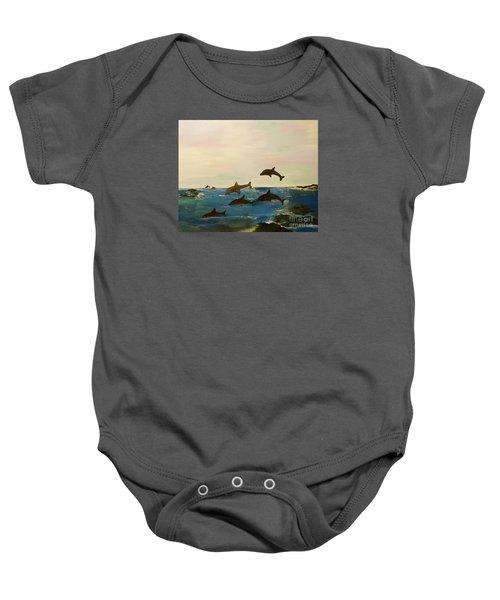 Dolphin Bay Baby Onesie
