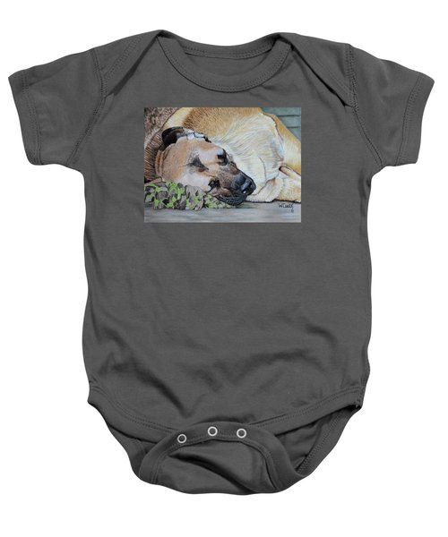 Dont Touch My Toy Baby Onesie