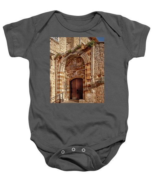 Doorway In Akko Baby Onesie