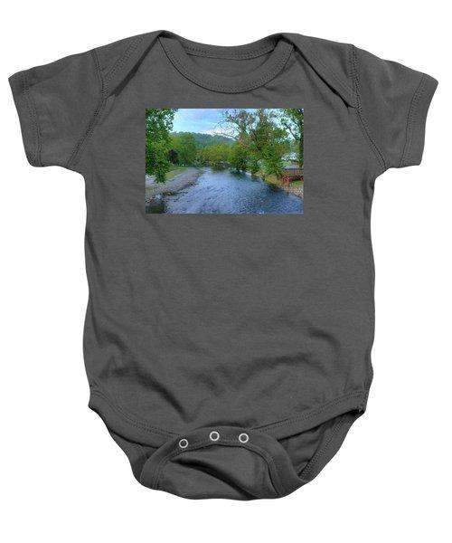 Downstream Baby Onesie