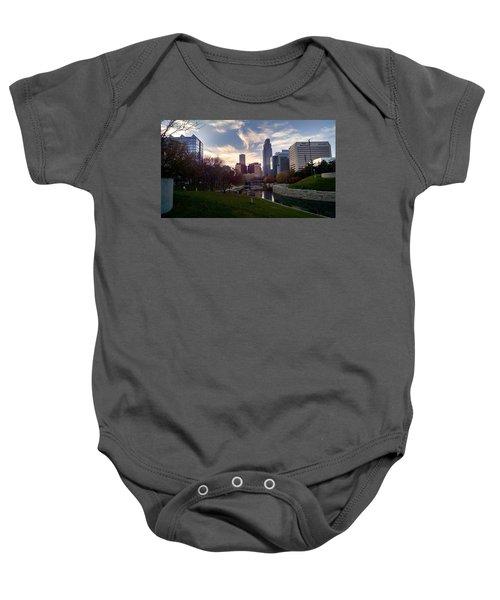 Downtown Omaha Baby Onesie