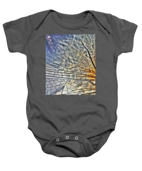 Dragonfly Wing Baby Onesie